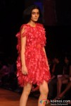 Model At Lakme Fashion Week 2012