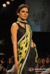 Model Walks The Ramp For Archana Kochhar At Lakme Fashion Week 2012