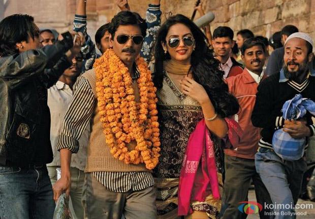 Nawazuddin Siddiqui, Huma Qureshi In Gangs Of Wasseypur 2 Movie Stills