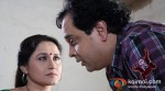 Nishiganda Wad And Mahesh Thakur (In The Name Of Tai-Tai Ke Naam Movie Stills)