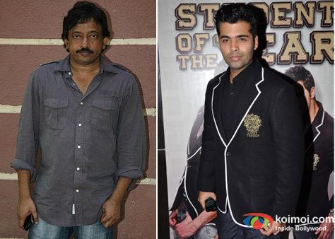 Ram Gopal Varma and Karan Johar