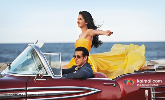 Salman Khan And Katrina Kaif in Ek Tha Tiger Movie Stills