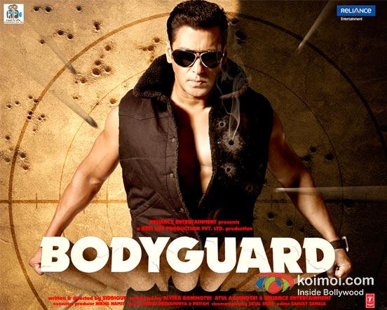 Salman Khan In Bodyguard Movie Wallpaper