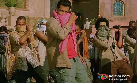 Salman Khan In Ek Tha Tiger Movie Stills