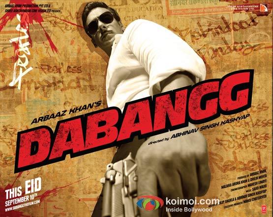 Salman Khan In Dabangg Movie Wallpaper