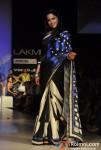 Sameera Reddy Walks The Ramp For Archana Kochhar At Lakme Fashion Week 2012