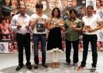 Santosh Chopra, Sagar, Ester, Vicky, Roshan Kumar At Qayamat Hi Qayamat Movie Music Launch