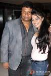 Satish Shetty and Nikita Rawal At Peninsula Restaurant
