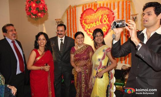 Mohit Chauhan and Sayani Gupta (Second Marriage Dot Com Movie Stills)