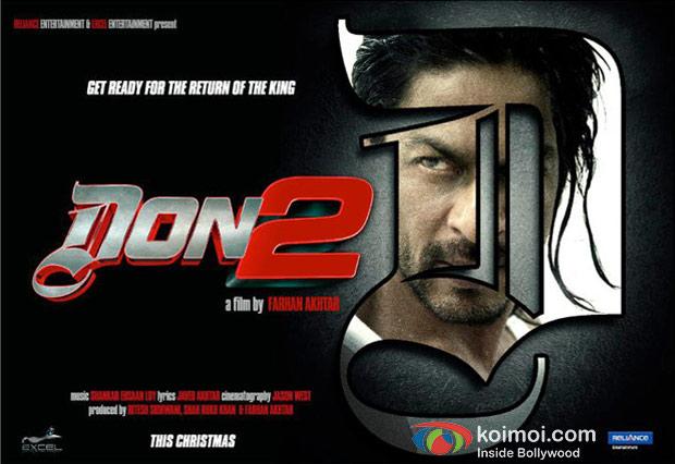 Shah Rukh Khan In Don 2 Movie Wallpaper