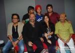 Shamir Tandon, Amit Kumar, Leslie Lewis, Devender Pal Singh, Poorvi Kaoutish, Vipul Mehta, Sameer At Indian Idol 6 - The Fabulous Four Recording