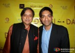 Shashi Tharoor, Prashant Nair At Delhi In A Day Movie Screening
