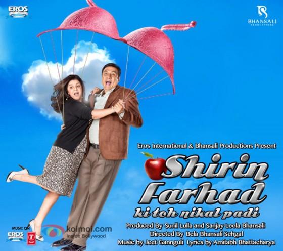 Farah Khan and Boman Irani (Shirin Farhad Ki Toh Nikal Padi Movie Poster)