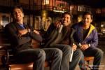 Sidharth Malhotra, Karan Johar and Varun Dhawan together in Student Of The Year Movie Stills