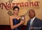 Simran Kaur Mundi Unveil Stylish And Luxurious Nazraana Lounge At IIJW 2012