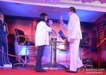 Sneha Rajani Sr. EVP, Amitabh Bachchan Unveils Kaun Banega Crorepati (KBC) 2012 Hot Seat Aapke Shehar Van