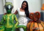 Sonakshi Sinha With Aliens Promote Joker Movie On The Sets Of DID Dance Ke Superkids Show