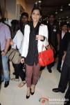 Sonam Kapoor Snapped At Infinity Mall