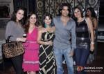Tulip Joshi, Karnvir Bohra and Teejay Sidhu at Kiran Bawa's Party in Juhu