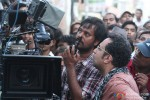 Aanand L Rai on the sets of Raanjhnaa Movie Stills