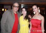 Aditya Raj Kapoor , Devshi Khanduri And French Actress Christie Bourcq At The Strugglers Amhi Udyache Hero Marathi Movie Music Launch