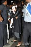 Aishwarya Rai Bachchan Snapped With Her Baby
