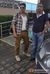 Akshay Kumar, Milan Luthria Snapped At Airport