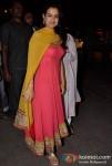 Ameesha Patel At Salman Khan's Ganpati Visrajan