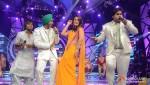 Amit Kumar, Devendra Singh, Kareena Kapoor, Vipul Mehta On The Sets Of Indian Idol Season 6 Finale