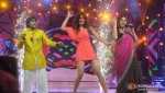 Amit Kumar, Priyanka Chopra, Sunidhi Chauhan On The Sets Of Indian Idol Season 6 Finale