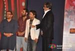 Amitabh Bachchan, Rajpal Yadav At Ata Pata Lapata Movie Music Launch