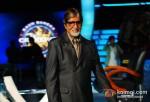 Amitabh Bachchan On The Sets Of Kaun Banega Crorepati