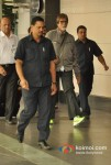 Amitabh Bachchan Snapped Green Florescent Sports Shoes