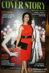Anjum Nayar At Cover Story Movie First Look Trailer Launch