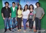 Ankush Choudhary, Sai Lokur, Kranti Redkar, Nakash Sargam At No Entry Pudhe Dhoka Aahey Movie Press Meet