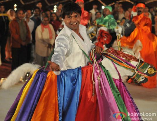 Rajpal Yadav in Ata Pata Laapata Movie Stills