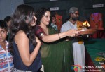 Auroshikha Dey, Shreya Narayan At Tv9's Eco-Friendly Green Ganesha