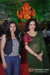 Auroshikha Dey And Shreya Narayan At Tv9's Eco-Friendly Green Ganesha