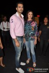 Bharat Takhtani and Esha Deol Walks For Azwa Jewellery