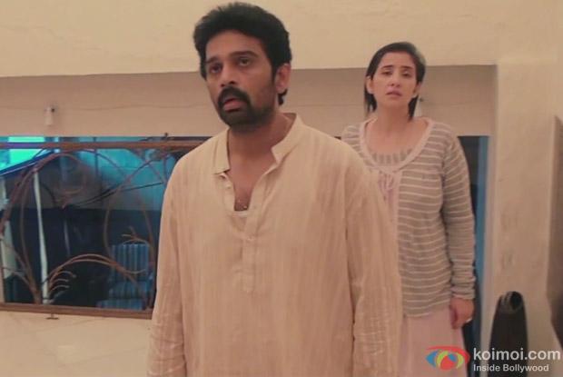 Manisha Koirala and J.D. Chakravarthy in Bhoot Returns Movie Stills