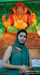 Bhumika Chawla Perform First Day Ganpati Aarti
