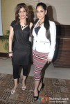 """Bina Aziz and Lucky Morani at """"Le Musique Club"""" Press Meet Held At The Club"""