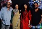 Boney Kapoor, Sridevi, Gauri Shinde and R. Balki On The Sets Of Kaun Banega Crorepati With Amitabh Bachchan