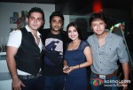Bunny, Siddharth Anand, Aanchal Anand and Arjun Punj At The Bollywood Miro Lounge Theme Nights Launch At Svenska Design Hotel