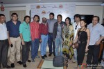 Chetan Rana, Aporva Shah, Akash, Aadesh Shrivastav, Chaitali Shrivastava, Rajesh And Falguni Brahmbhatt At Navratri 2012 Announcement By AMZ Enterprises