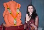 Claudia Ciesla At Tv9's Eco-Friendly Green Ganesha