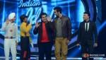 Devendra Singh, Amit Kumar, Vipul Mehta, Ranbir Kapoor, Anu Malik On The Sets Of Indian Idol Season 6 Finale