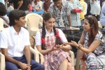 Sonam Kapoor and Dhanush on the sets of Raanjhnaa Movie Stills
