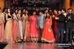 Dia Mirza, Parineeti Chopra, Priyanka Chopra, Shabana Azmi, Arjun Kapoor, Rohit Shetty, Karan Johar, Manish Malhotra, Rohit Roy At 'Mijwan-Sonnets in Fabric' fashion show