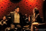 Emraan Hashmi and hottie Neha Dhupia have a hearty laugh in Rush Movie Stills